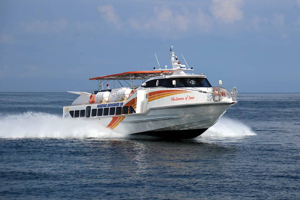 Liburan ke Lombok Bersama Marina Srikandi Fast Boat