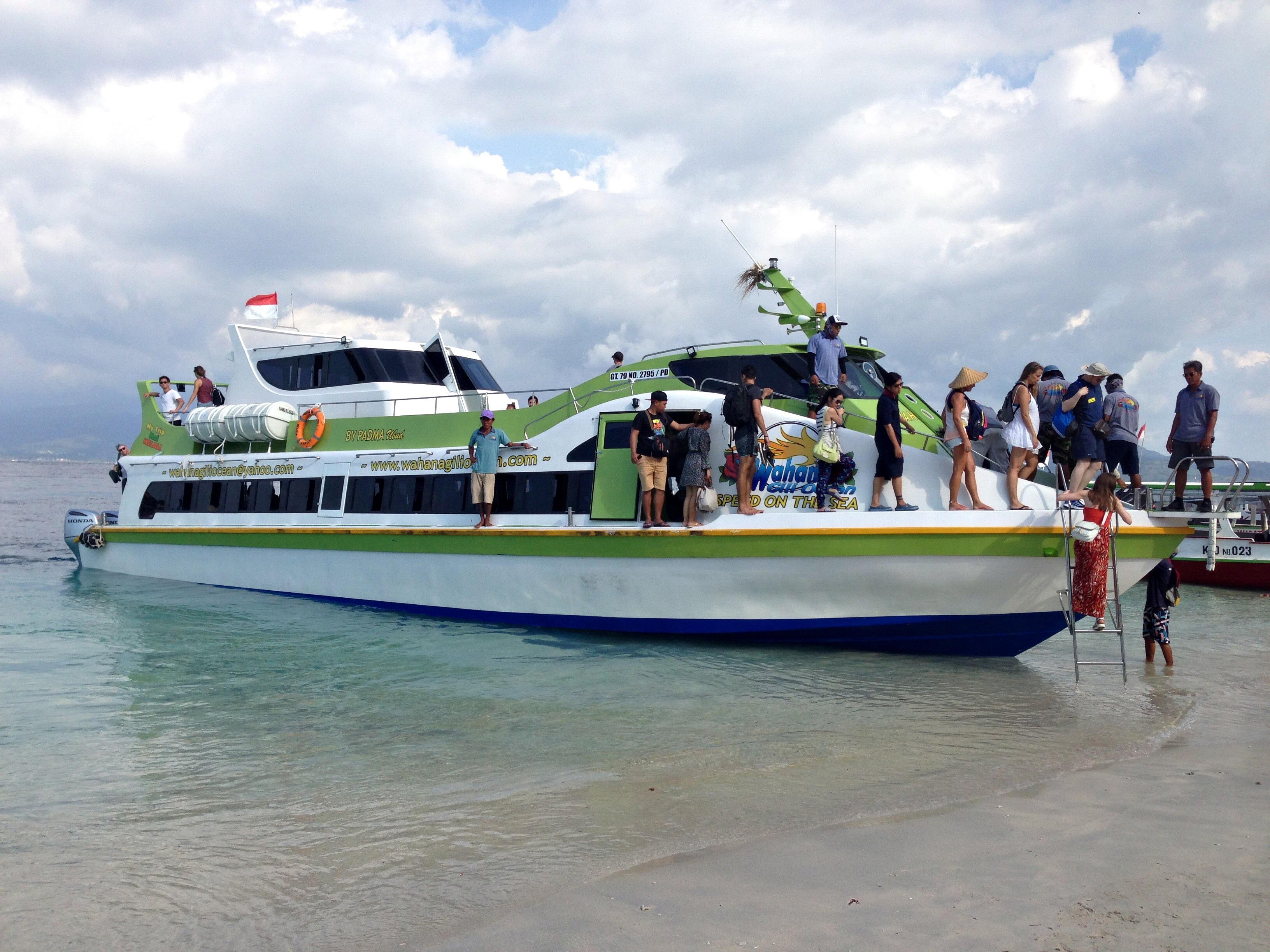 Harga Tiket Fast Boat Wahana Gili Ocean Tahun 2018