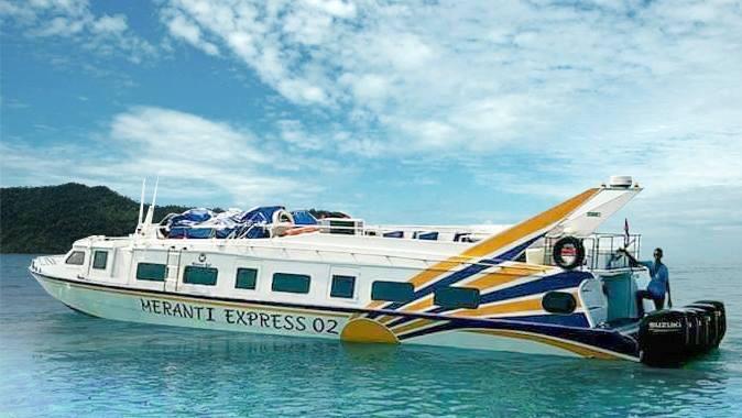 Meranti Express Fast Boat@fastboatkegili.com