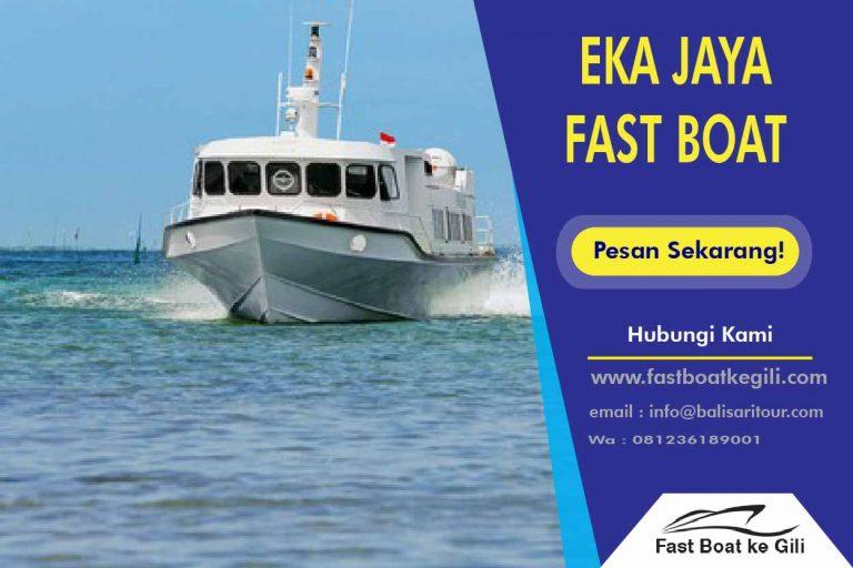 Eka Jaya Fast Boat ke Gili