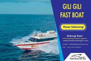 GIli Gili Fast Boat ke Gili
