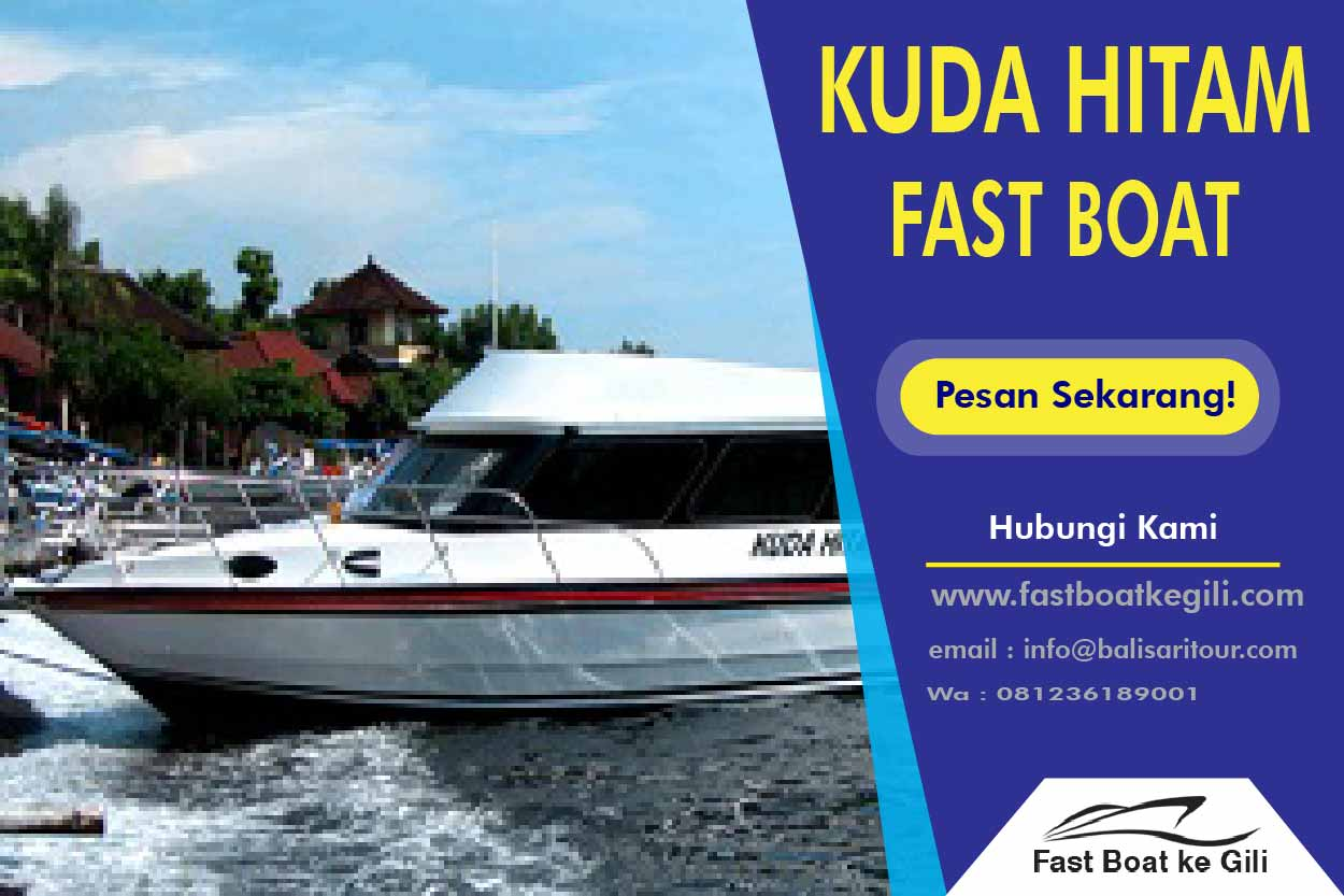 Kuda Hitam Fast Boat