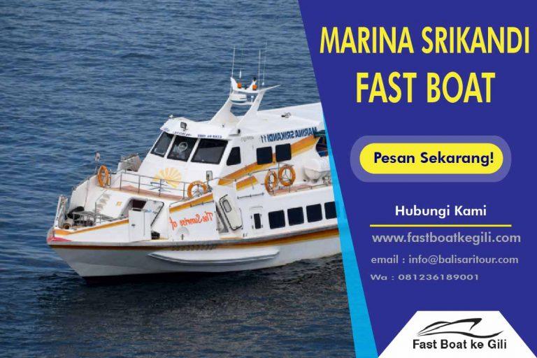 Marina Srikandi Fast Boat ke Gili