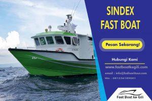 Sindex Fast Boat ke Gili