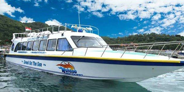 Wahana Gili Ocean Fast Boat ke gili